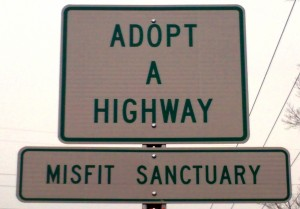 Misfit's Adopt a Highway