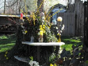 Misfit Spring Equinox Altar